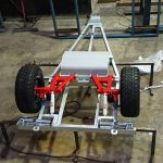 off-road camper trailer chassis