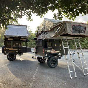 exceed off-road camper trailers unpacked