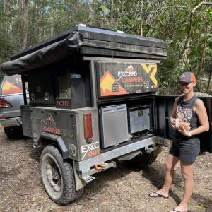 exceed camper trailer storage