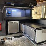 camper trailer kitchen storage
