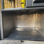 camper trailer rear storage
