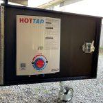 camper trailer hot water system