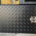 camper trailer secure storage