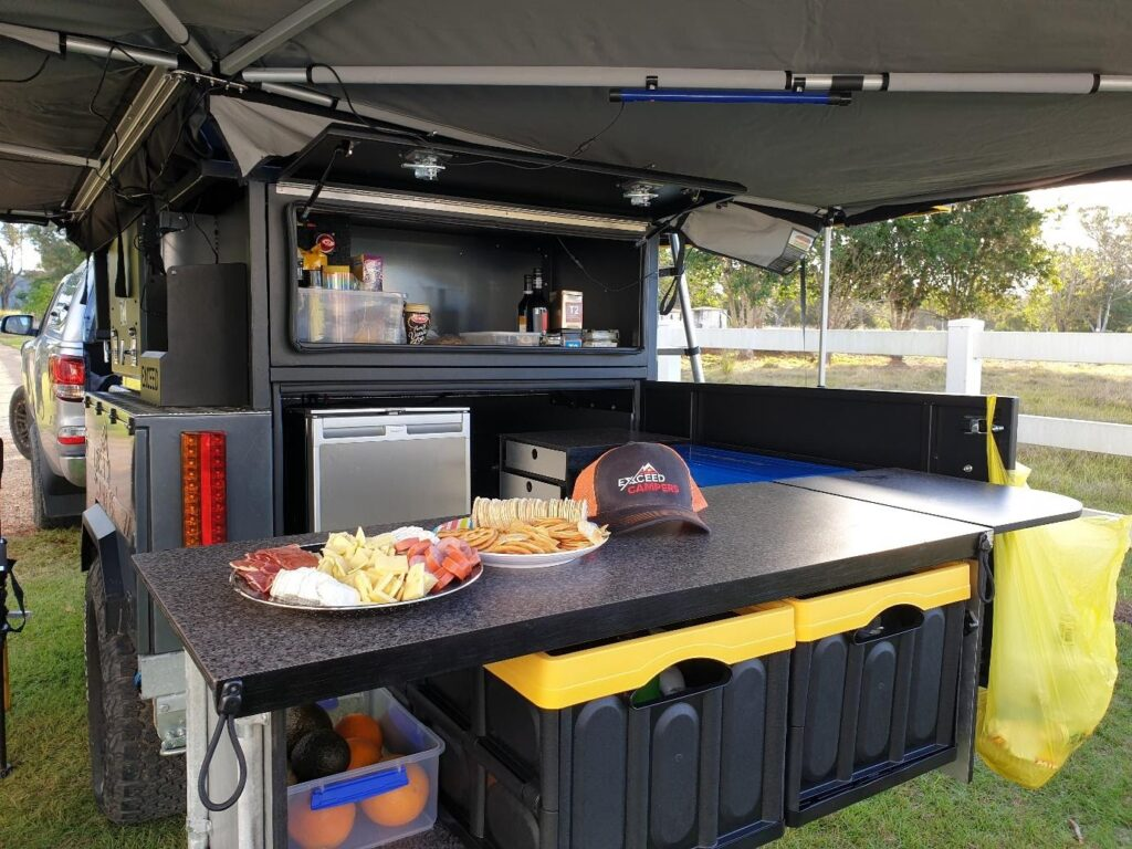Ultimate Gourmet Camper Trailer Kitchen